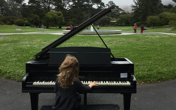 Out & About: the Flower Piano at the San Francisco Botanical Garden